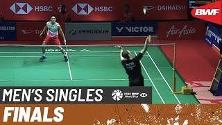 【Video】Viktor AXELSEN VS Kento MOMOTA, PERODUA Malaysia Masters 2020 finals
