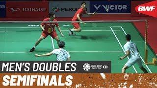 【Video】KIM Gi Jung・LEE Yong Dae VS Fajar ALFIAN・Muhammad Rian ARDIANTO, PERODUA Malaysia Masters 2020 semifinal