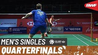 【Video】Viktor AXELSEN VS CHEN Long, PERODUA Malaysia Masters 2020 quarter finals