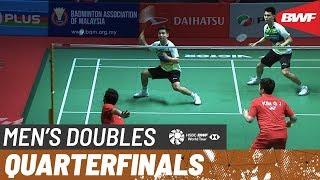 【Video】KIM Gi Jung・LEE Yong Dae VS ONG Yew Sin・TEO Ee Yi, PERODUA Malaysia Masters 2020 quarter finals