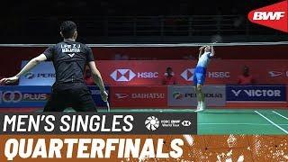 【Video】LEE Zii Jia VS SHI Yuqi, PERODUA Malaysia Masters 2020 quarter finals