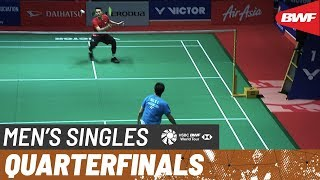 【Video】Jonatan CHRISTIE VS NG Ka Long Angus, PERODUA Malaysia Masters 2020 quarter finals