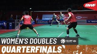 【Video】Greysia POLII・Apriyani RAHAYU VS CHANG Ye Na・KIM Hye Rin, PERODUA Malaysia Masters 2020 quarter finals