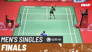 【Video】Anthony Sinisuka GINTING VS Anders ANTONSEN, DAIHATSU Indonesia Masters 2020 finals