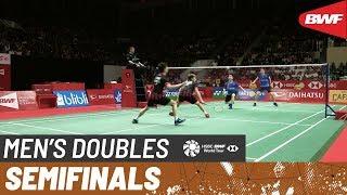 【Video】Marcus Fernaldi GIDEON・Kevin Sanjaya SUKAMULJO VS Aaron CHIA・Wooi Yik SOH, DAIHATSU Indonesia Masters 2020 semifinal