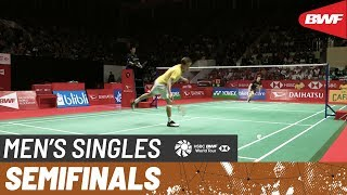 【Video】Anders ANTONSEN VS LEE Cheuk Yiu, DAIHATSU Indonesia Masters 2020 semifinal