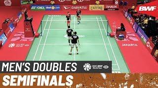 【Video】Mohammad AHSAN・Hendra SETIAWAN VS Fajar ALFIAN・Muhammad Rian ARDIANTO, DAIHATSU Indonesia Masters 2020 semifinal
