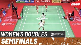 【Video】Greysia POLII・Apriyani RAHAYU VS KIM So Yeong・KONG Hee Yong, DAIHATSU Indonesia Masters 2020 semifinal