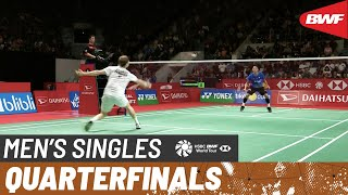 【Video】Jonatan CHRISTIE VS Anders ANTONSEN, DAIHATSU Indonesia Masters 2020 quarter finals
