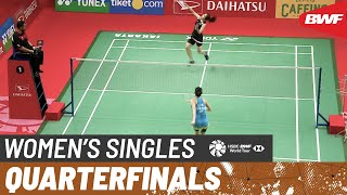 【Video】Michelle LI VS Ratchanok INTANON, DAIHATSU Indonesia Masters 2020 quarter finals
