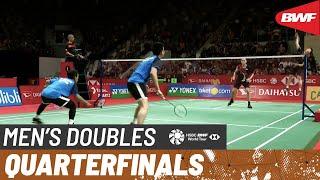 【Video】Mohammad AHSAN・Hendra SETIAWAN VS LEE Yang・WANG Chi-Lin, DAIHATSU Indonesia Masters 2020 quarter finals
