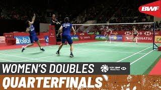 【Video】Greysia POLII・Apriyani RAHAYU VS Nami MATSUYAMA・Chiharu SHIDA, DAIHATSU Indonesia Masters 2020 quarter finals