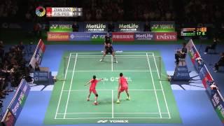 【Video】ZHANG Nan VS Joachim FISCHER NIELSEN, Yonex Open Japan other