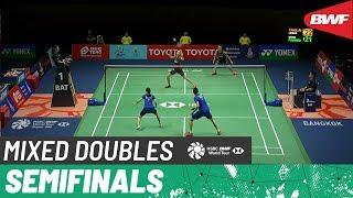 【Video】Hafiz FAIZAL・Gloria Emanuelle WIDJAJA VS TAN Kian Meng・LAI Pei Jing, Princess Sirivannavari Thailand Masters 2020 semifin