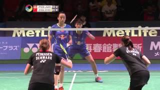 【Video】Christinna PEDERSEN VS ZHONG Qianxin, Yonex Open Japan other