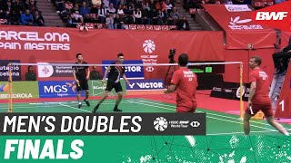 【Video】Kim ASTRUP・Anders Skaarup RASMUSSEN VS LEE Yang・WANG Chi-Lin, Barcelona Spain Masters 2020 finals