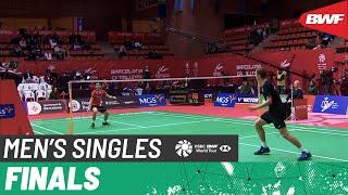 【Video】Viktor AXELSEN VS Kunlavut VITIDSARN, Barcelona Spain Masters 2020 finals