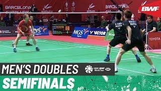 【Video】Kim ASTRUP・Anders Skaarup RASMUSSEN VS Aaron CHIA・Wooi Yik SOH, Barcelona Spain Masters 2020 semifinal