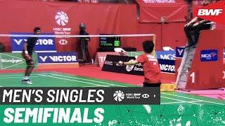 【Video】Ajay JAYARAM VS Kunlavut VITIDSARN, Barcelona Spain Masters 2020 semifinal