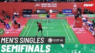 【Video】Viktor AXELSEN VS Daren LIEW, Barcelona Spain Masters 2020 semifinal