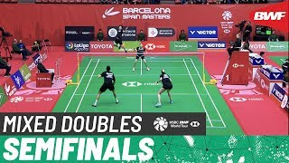 【Video】KIM Sa Rang・KIM Ha Na VS Mathias BAY-SMIDT・Rikke SØBY, Barcelona Spain Masters 2020 semifinal