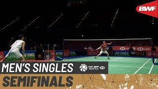 【Video】CHOU Tien Chen VS Anders ANTONSEN, YONEX All England Open 2020 semifinal