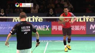 【Video】LEE Dong Keun VS Viktor AXELSEN, Yonex Open Japan quarter finals
