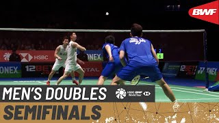 【Video】Marcus Fernaldi GIDEON・Kevin Sanjaya SUKAMULJO VS LEE Yang・WANG Chi-Lin, YONEX All England Open 2020 semifinal