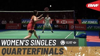 【Video】Carolina MARIN VS Akane YAMAGUCHI, YONEX All England Open 2020 quarter finals