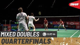 【Video】Marcus ELLIS・Lauren SMITH VS TANG Chun Man・TSE Ying Suet, YONEX All England Open 2020 quarter finals