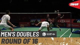 【Video】Marcus ELLIS・Chris LANGRIDGE VS Fajar ALFIAN・Muhammad Rian ARDIANTO, YONEX All England Open 2020 best 16