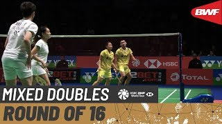 【Video】TANG Chun Man・TSE Ying Suet VS Rinov RIVALDY・Pitha Haningtyas MENTARI, YONEX All England Open 2020 best 16