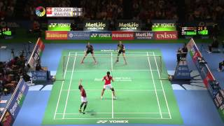 【Video】Christinna PEDERSEN・Kamilla Rytter JUHL VS Nitya Krishinda MAHESWARI・Greysia POLII, Yonex Open Japan quarter finals