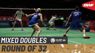 【Video】Hafiz FAIZAL・Gloria Emanuelle WIDJAJA VS Chris ADCOCK・Gabrielle ADCOCK, YONEX All England Open 2020 best 32