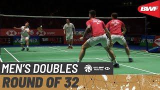 【Video】Hiroyuki ENDO・Yuta WATANABE VS Ben LANE・Sean VENDY, YONEX All England Open 2020 best 32