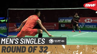 【Video】KIDAMBI Srikanth VS CHEN Long, YONEX All England Open 2020 best 32