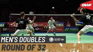 【Video】Fajar ALFIAN・Muhammad Rian ARDIANTO VS Mathias BOE・Mads CONRAD-PETERSEN, YONEX All England Open 2020 best 32