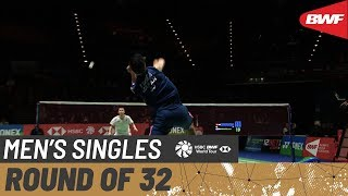 【Video】NG Ka Long Angus VS Kenta NISHIMOTO, YONEX All England Open 2020 best 32