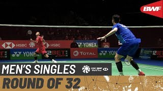 【Video】LEE Zii Jia VS Jonatan CHRISTIE, YONEX All England Open 2020 best 32