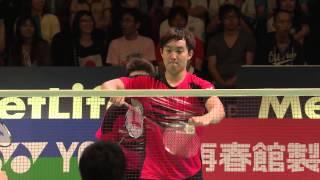 【Video】Hiroyuki ENDO VS KIM Gi Jung, Yonex Open Japan other