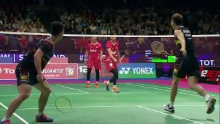 【Video】LIU Cheng・ZHANG Nan VS Mohammad AHSAN・Rian Agung SAPUTRO, TOTAL BWF World Championships 2017 finals