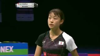 【Video】PUSARLA V. Sindhu VS Nozomi OKUHARA, TOTAL BWF World Championships 2017 finals