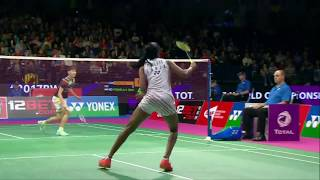 【Video】PUSARLA V. Sindhu VS CHEN Yufei, TOTAL BWF World Championships 2017 semifinal