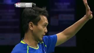 【Video】Mohammad AHSAN・Rian Agung SAPUTRO VS Takeshi KAMURA・Keigo SONODA, TOTAL BWF World Championships 2017 semifinal