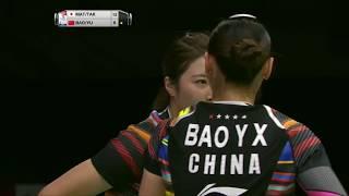 【Video】Misaki MATSUTOMO・Ayaka TAKAHASHI VS BAO Yixin・YU Xiaohan, TOTAL BWF World Championships 2017 quarter finals