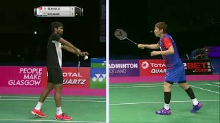 【Video】SON Wan Ho VS KIDAMBI Srikanth, TOTAL BWF World Championships 2017 quarter finals