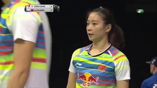 【Video】LU Kai・HUANG Yaqiong VS CHOI SolGyu・CHAE YuJung, TOTAL BWF World Championships 2017 best 16