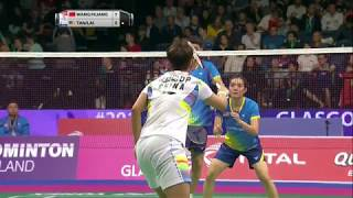 【Video】WANG Yilyu・HUANG Dongping VS TAN Kian Meng・LAI Pei Jing, TOTAL BWF World Championships 2017 best 16