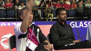 【Video】Rituparna DAS VS Kirsty GILMOUR, TOTAL BWF World Championships 2017 best 32