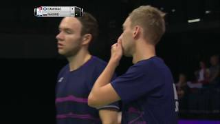 【Video】Vladimir IVANOV・Ivan SOZONOV VS Martin CAMPBELL・Patrick MACHUGH, TOTAL BWF World Championships 2017 best 32